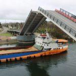 Este jueves se levantarán nuevamente los tableros del Cau Cau para el paso de tres embarcaciones
