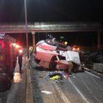 Milagrosa escapada de conductor de camión que volcó en Esperanza