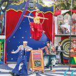 Teatro, música y circo son panorama para los mini espectadores del municipal