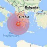 Sismo de magnitud 6.0 sacude las costas de Grecia