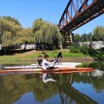 Club de Kayak de Nueva Imperial pide mayor compromiso de las autoridades para mejorar su centro de entrenamiento