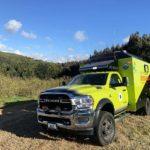 Chilenos crean primer vehículo satelital todoterreno para coordinar combate de incendios