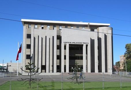 Corte Temuco frontis